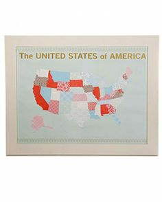"See the ""U.S. Map Scrapbook Page"" in our 36 Great Scrapbook Ideas and Albums gallery"