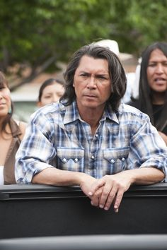 Lou Diamond Phillips as Henry Standing Bear in Longmire