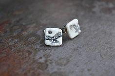 HandmadeFamily / Náušnice biele