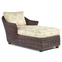 Whitecraft Sonoma Wicker Chaise Lounge