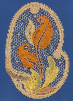Withof bobbin lace by Ingrid Bormuth