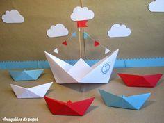 Anaquiños de papel: Marinero que surca los mares...