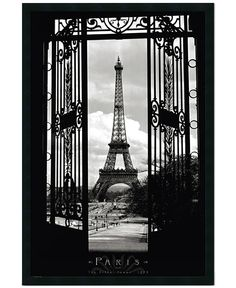 'Eiffel Tower 1909' framed art — from Paris, with love...