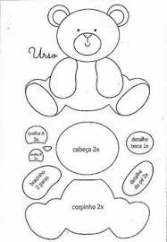 cute baby bear felt pattern, would look lovely on a little girls/boys nappy bag… Applique Templates, Applique Patterns, Applique Designs, Felt Templates, Patchwork Patterns, Patchwork Ideas, Stitch Patterns, Quilt Baby, Felt Patterns