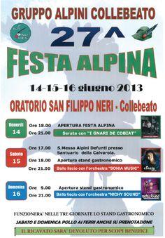 27 Festa Alpina a Collebeato http://www.panesalamina.com/2013/11880-27-festa-alpina-a-collebeato.html