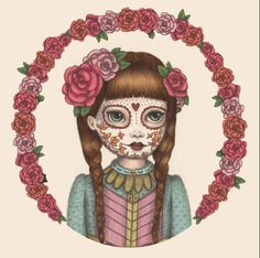 The Little Sister - Pencil/Digital by Emma Hampton 2013
