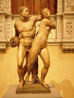 Alpheus and Arethusa, Battista Lorenzi (1721–1807), NY Metropolitan Museum of Art.  Photo credit: Alexander Bell.