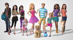 Barbie Life in the Dreamhouse animated web series