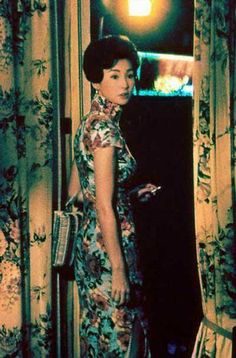 Maggie Cheung, In the Mood for Love, cheongsam