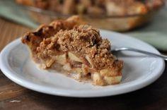 Apple Crumb Pie - Mel's Kitchen Cafe