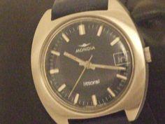 Orologio da polso Mondia Litorale vintage '70 Acciaio inox originale Cristallo Gold Watch, Unisex, Vintage, Ebay, Accessories