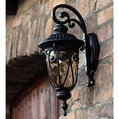 Y-Decor Hailee 1 Light Exterior Lighting in Oil Rubbed Bronze (Oil Rubbed Bronze, Exterior, Outdoor)