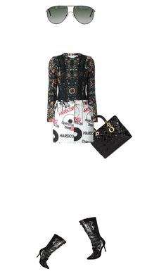 """Untitled #2673"" by misnik ❤ liked on Polyvore featuring Christian Dior"