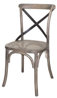 Cross Back Chair - Sundried | Dining Chairs | Eat | Products | LH Imports