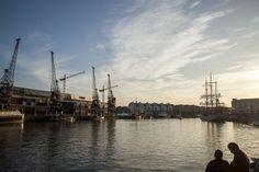 Warm docks.
