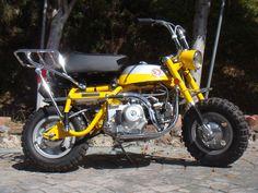 1969 Honda Z50  HONDA Z50 K1 1969 Z50A SILVERTAG MINITRAIL CT70 HONDA 50 SILVER TAG