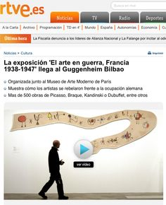 Dubuffet, Guggenheim Bilbao, 2013, Tv, Picasso, France, Exhibitions, News, Sports