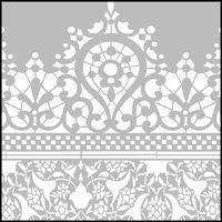 The Lace Border stencil - price £96.00