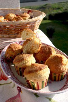 mis recetas dulces y saladas: magdalenas portuguesas de arroz (bolos de arroz)