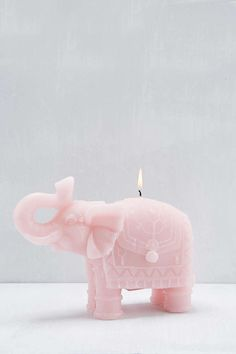 Elephant Candle - Urban Outfitters on We Heart It Urban Outfitters, Bougie Candle, Candels, Candle Making, My Room, Form, Decoration, Room Inspiration, Home Accessories