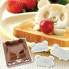 USD $ 13.99 - DIY Frog/Panda Shape Design Toast/Bread Mould, Free Shipping On All Gadgets!