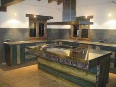 Microcemento Kitchen Island, Home Decor, Island Kitchen, Decoration Home, Room Decor, Home Interior Design, Home Decoration, Interior Design