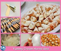 Foood Style: Yummy Cream Horns idea !