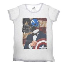 T-shirt Capitan America Available on www.manymaltshirt...