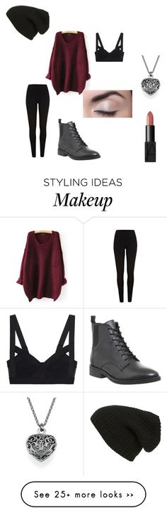"""""""We're Head Strong And Our Hearts Gone"""" by victoria-dewolf on Polyvore featuring River Island, Phase 3, NARS Cosmetics, Office, holiday, roman, RomanHoliday, halsey and badlands"""
