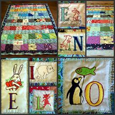 """From the """"Embroidery ABC"""" Collection at www.AnjaRiegerDesign.com here: http://www.anjariegerdesign.com/embroidery-designs/abc.html #embroidery #DIY #crafts #AnjaRieger #alphabet"""