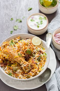 Sunday means BIRYANI for lunch if eating at home. I cannot imagine a Sunday without briyani.
