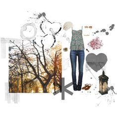 cool, autumn afternoon., created by lackey-lack on Polyvore