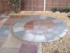 stone circle paving Google Search Garden Pinterest Gardens