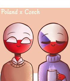 Countryhumans Ship Pictures - Czech x Poland Chibi, I Go Crazy, Pusheen Cat, Album, Hetalia, Mickey Mouse, Disney Characters, Fictional Characters, Deviantart