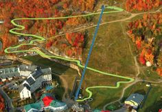 Skyline Luge Mont-Tremblant – The tallest of the Laurentian mountains!