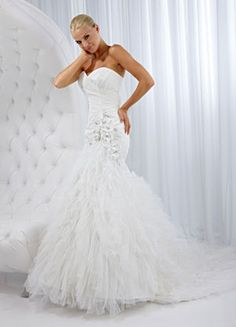 Impression Bridal : Style #10087 (available colours : Ivory, White)