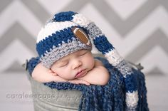 Dallas Cowboys Elf Hat by craftnikki on Etsy