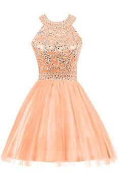 Audrey Bride Woman's Short Prom Dress Homecoming Dress Rhinestone: Amazon.ca: Clothing & Accessories