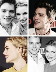 Dominic Sherwood & Lucy Fry.