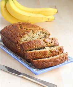 The Perfect Banana Bread- gluten-free, dairy-free and refined sugar free! | Making Thyme for Health. Maybe he'll like this.