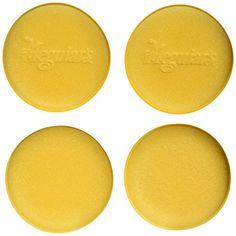 """Meguiar's W0004 Foam Applicator Pad 4-1/2"""", 4 per pack"""