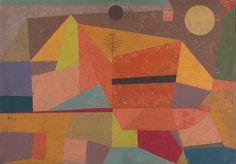 Paul Klee : Joyful Mountain Landscape - 1929