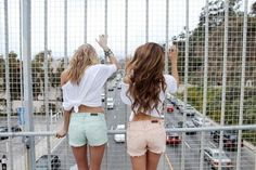 pastel shorts