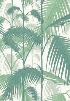 Grønne palmeblade
