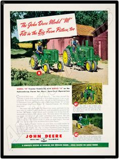 John Deere 50 /& 60 Tractors New Metal Sign LARGE SIZE  12 X 16