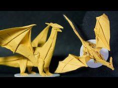 Origami Dragon 8.0 High Intermediate Tutorial  (Henry Phạm) - YouTube