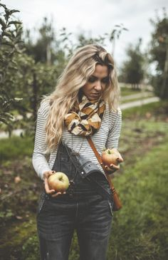 Autumn Layers - Anthropologie, Free People + Block Shop Textiles | offbeat + inspired...Overalls!!!! EEEkkkk