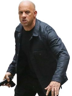 Vin Diesel Fast 8 persona never closes no place and like this one as Dominic Toretto Leather Jacket has overhauled the Fate of the Furious.
