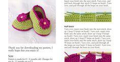Fairy Blossom Baby Booties Crochet Pattern.pdf