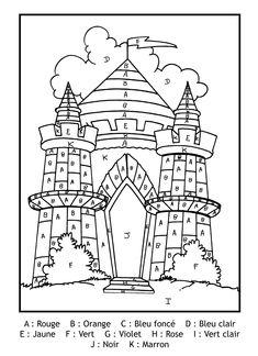 Pour imprimer ce coloriage gratuit «coloriage-magique-lettres-chateau», cliquez sur l'icône Imprimante situé juste à droite
